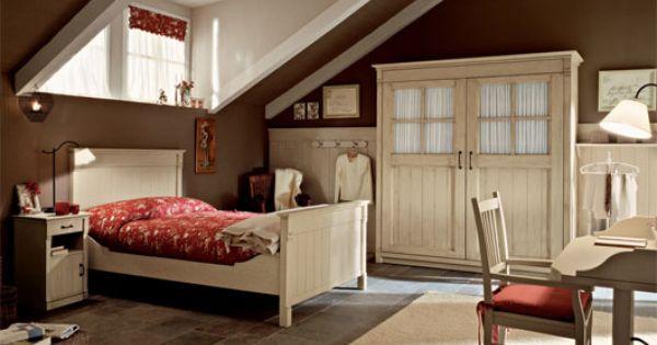 aarredamento country interior design : English Country Style Bedroom Interior from Arredamento Mobili ...