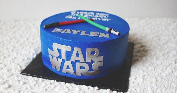 Star wars light saber, Star wars light and Star wars cake on Pinterest