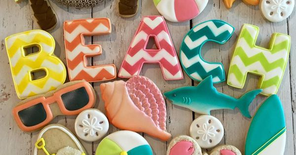 Cake Decorating Classes Hammond La : Beach Cookies by @cookieoccasions_ The Cookie Cutter ...