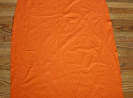 Super Hero Cape from Men's T-shirt Refashion Tutorial - Can be made