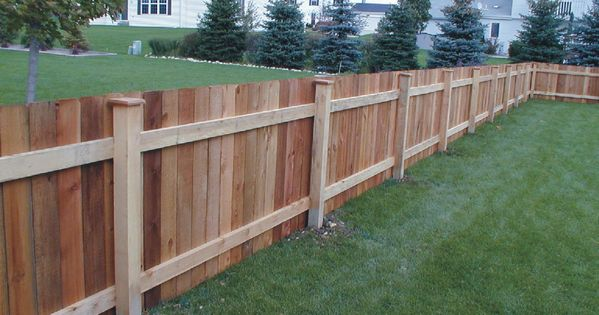 Simple Wood Fence Designs : ... simple-wood-fence-designs/ : #Outdoor Wood fence designs come in a