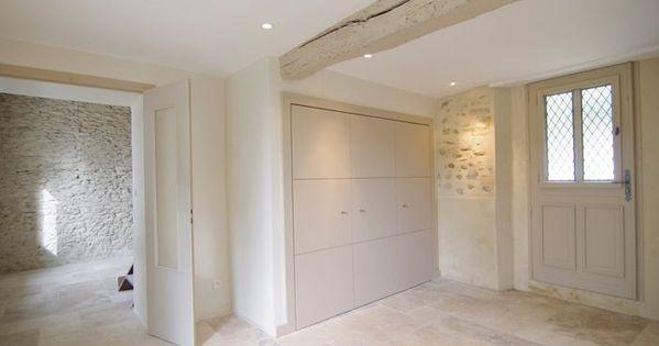 Maison en pierre int rieur avec murs en pierres apparentes - Isolation mur interieur leroy merlin ...