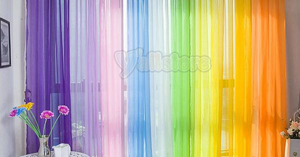 Cortinas arcoiris ideas para el hogar pinterest las for Cortinas para el hogar