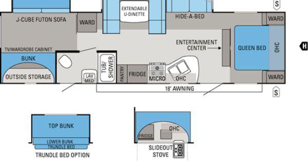 2013 Keystone Cougar Floor Plans