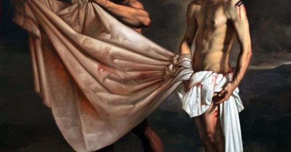 Roberto Ferri - The 10th Station of the Cross | Christus ...