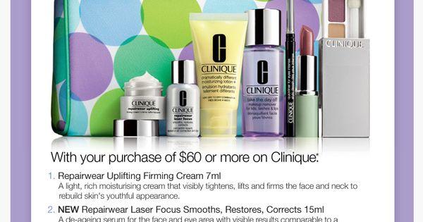 Clinique deals myer