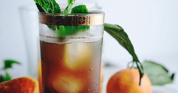 Citrus pomegranate mint tea » The Tart Tart | Recipes ...