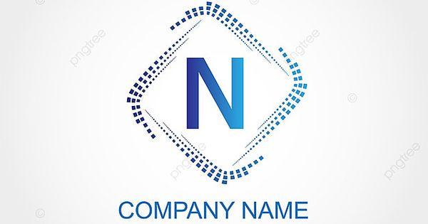 Huruf N Desain Template Logo In 2021 Logo Templates Template Design Lettering