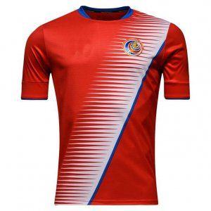 meet 7adf5 6b487 Costa Rica National Team 2017 Home Red Soccer Jersey [I610 ...