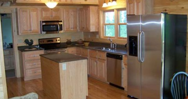 Log cabin style manufactured home