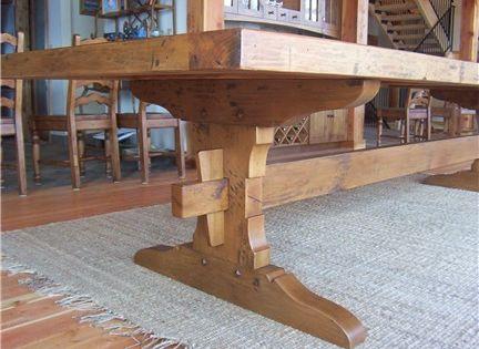trestle table plans - Google Search | table | Pinterest