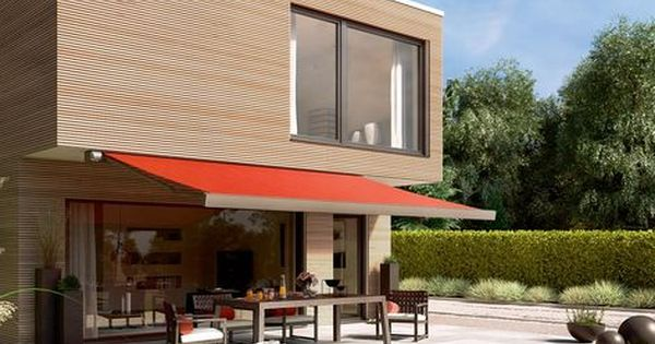 Available In A Range Of Colours And Sizes The Markilux 970 Kube Is A Compact Shading Solution Tende Da Esterni Tende Esterno