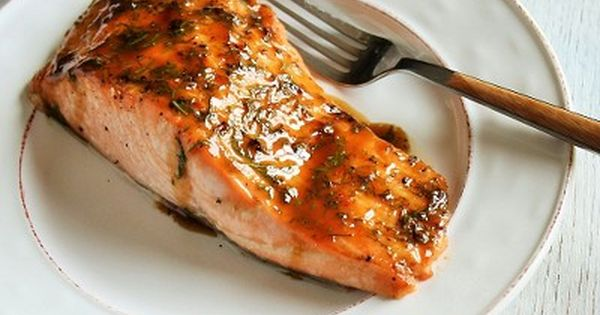 Salmon with Brown Sugar Glaze | Savory | Pinterest | Losos