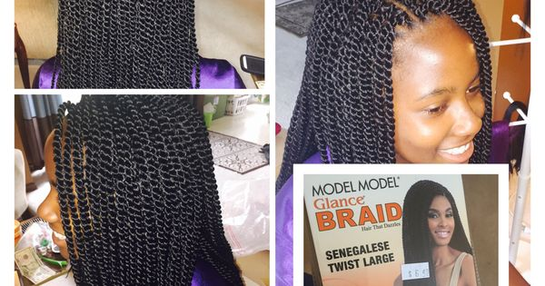 Crochet Box Braids Install : Crochet Braid install I did on my cousins hair last week. I use ...