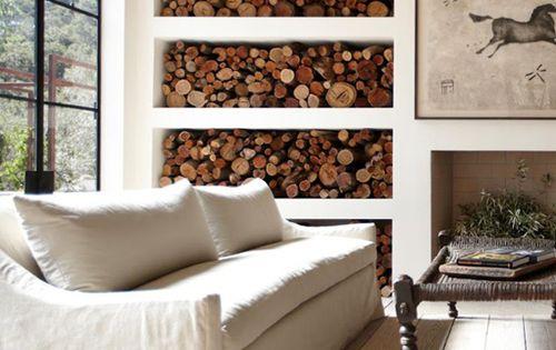 Wood Wall - Living Room