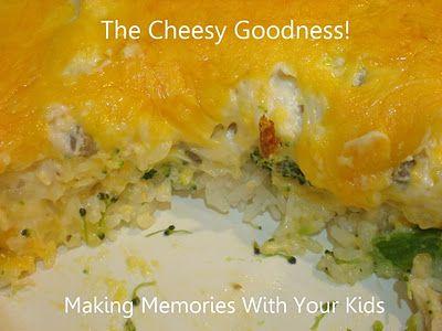 Cheesy chicken and broccoli recipe