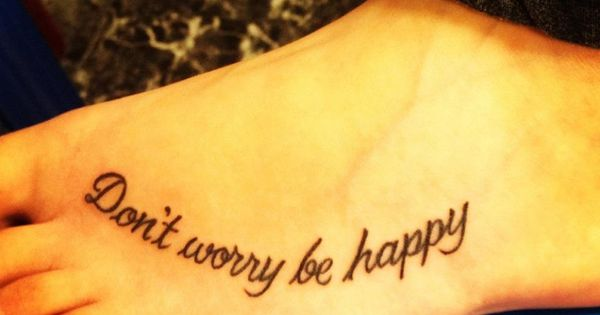 quote tattoos for girls on foot - Google Search