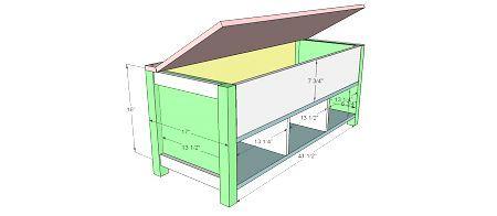 Flip Top Storage Bench With Cubbies Diy Storage Bench Bench With Shoe Storage Storage Bench Seating