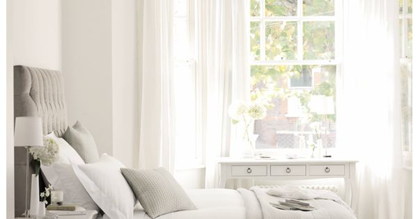 Beautiful. Dream bedroom. white gray bedrooms windows hardwood_floors This is exactly what