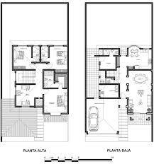 Planos De Casas De Dos Plantas Con Medidas Y Fachadas Planos Arquitectonicos De Casas Casas De Dos Plantas Casas De Dos Pisos