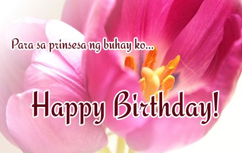 Tagalog Birthday Messages For Girlfriend 365greetings Com Message For Girlfriend Birthday Messages Birthday Wishes For Girlfriend