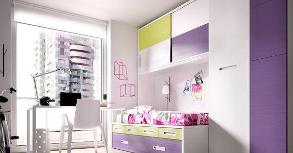 Habitaci n juvenil 203 1222015 dormitorios juveniles - Mobiliario juvenil moderno ...