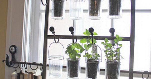 25 Cool DIY Indoor Herb Garden Ideas Gardens Backyards