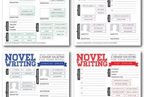 novel writing brainstorming templates v2 0 by
