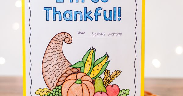 thankful essay lesson plan