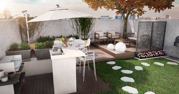 Un giardino per festeggiare con gli amici scopri come - Organizzare il giardino ...