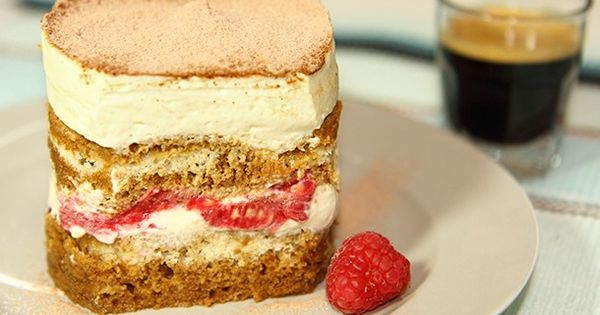 Tiramisu, Raspberries and Fresh on Pinterest