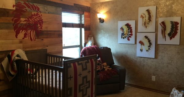 Native American Influenced Baby Nursery By Designers Brew
