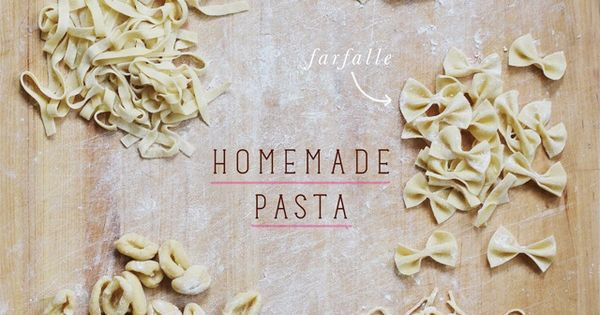 A Mini Guide to Homemade Pasta from Elephantine
