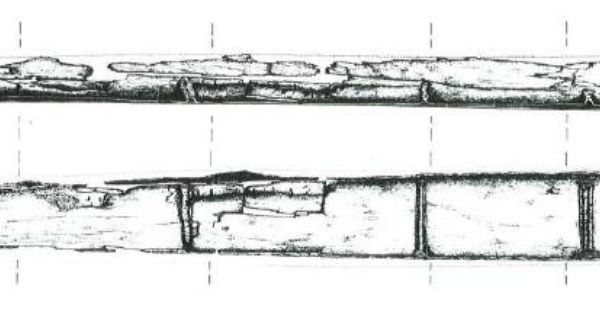 La Marmotta Dugout Canoe North Of Rome Would Have Required