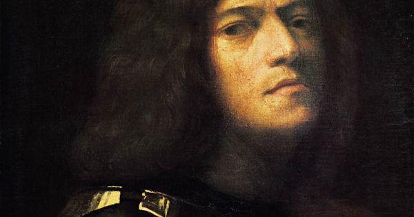 giorgione autoportrait en david huile sur panneau 52