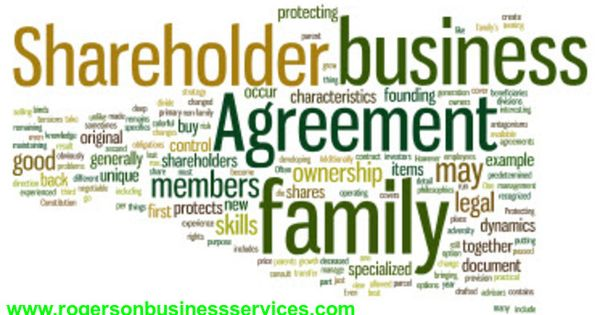 Shareholder Agreement protects family business as a family - shareholder agreement