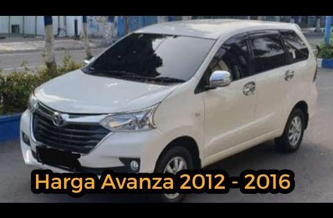 Daftar Harga Toyota Avanza Bekas Video Daftar Harga Toyota Avanza Bekas Harga Mobil Bekas Avanza Tahun 2012 2016 Inilah Harga Mobil Toyota Mobil Bekas Mobil