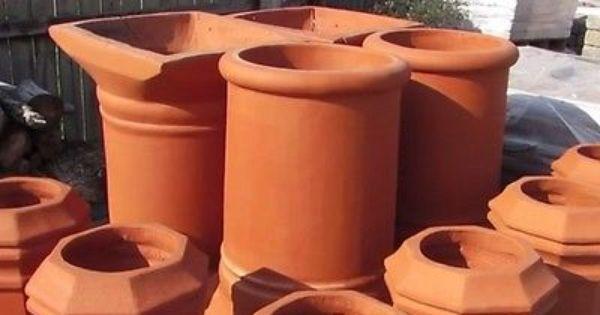 Chimney Pots Pot Clay Pots Garden Features