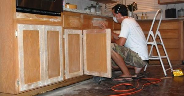 It's Overflowing Blog; She Refaced Her Kitchen Cabinets