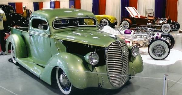 Ford pick up 1938 old gold garage hot ro d pinterest for Garage ford 78 plaisir