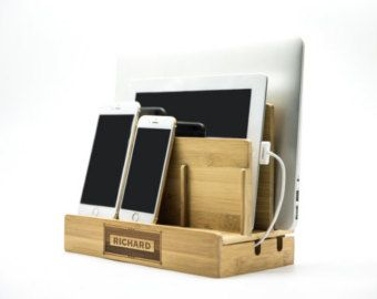 Honeycomb Charging Station Valet By Pineconehome On Etsy Countertop Organization Docking Station Mens Valentines Gifts