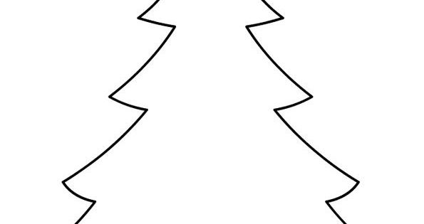 Christmas Tree Template Printable: …