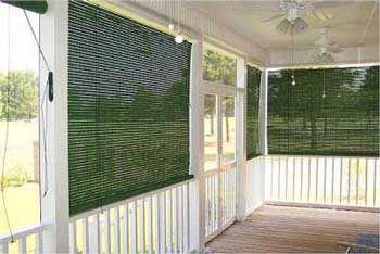 Porch Blinds Porch Shades Porch Awnings Coolaroo Shades Exterior Shades Porch Shades Custom Window Shade