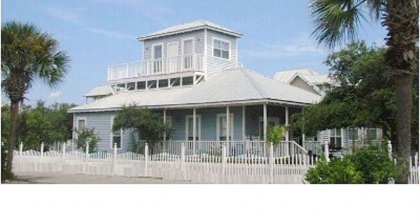 Crystal Beach House Rental In Destin Fl Beach House Rental Beach Cottage Exterior Cottage Exterior