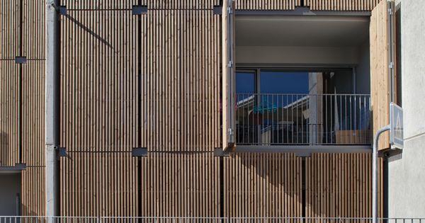 galeria de habita o social lojas em mouans sartoux comte et vollenweider architectes 29. Black Bedroom Furniture Sets. Home Design Ideas