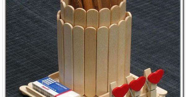 Art and craft ideas with ice cream sticks craft stick for Ice stick craft ideas