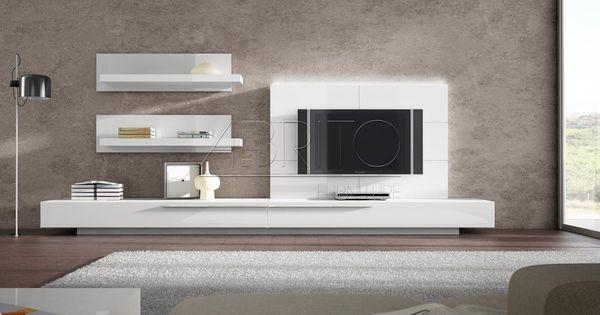 Mueble Tv Moderno Lacado Ginza 05s A Brito Colores