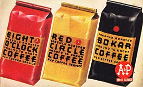 Vintage A P Coffee You Can Still Buy The Eight O Clock Coffee