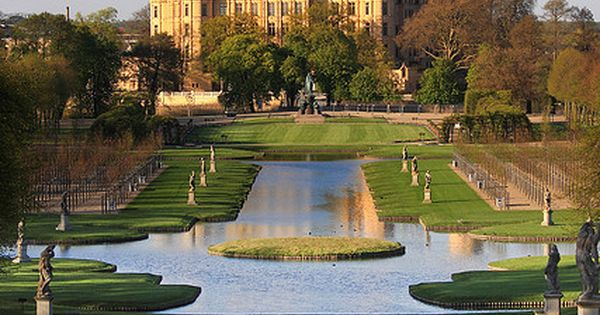 Palace Garden in front of the Schwerin Castle, Germany. travel things Travel
