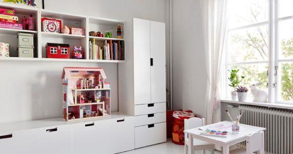 Ikea storage system in children room kids room - Decoracion ikea dormitorios ...